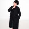 Abrigo Mod negro de Modet