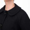 Detalle de abrigo Mod negro de Modet