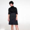 Falda Gris Mod de Modet nueva coleccion