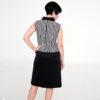 Vestido rayas mod de Modet espalda