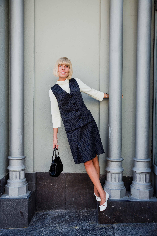 Nueva colección Autumn / Winter 2018-10 de Modet mod clothing, recreación de un día de compras, de charlas y de paseos.